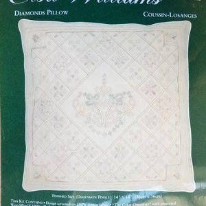 Elsa Williams Other - Stitchery Needlepoint Elsa Williams Pillow Kit NEW
